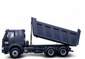 کامیون های ساختمانی